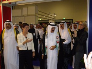 Visite du Ministre de la Culture Qatari